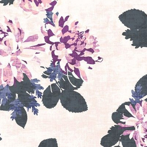 CHRYSANTHEMUM PLUM NAVY