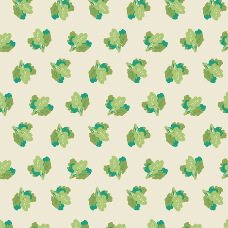 Lettuce fabric by jacquelinehurd on Spoonflower - custom fabric