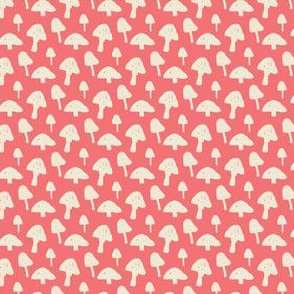 Mushrooms on Pink