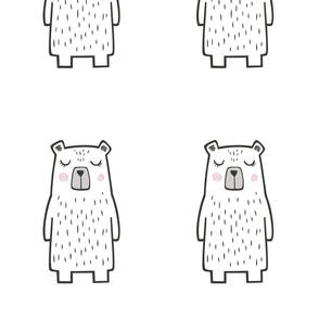 15 Bears 8 inch  Pillow Plush Plushie Softie Cut & Sew