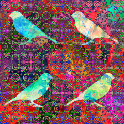 Animals By Air - A Tapestry of Birds