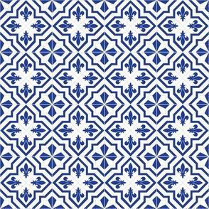Delft Fleur 2-inch