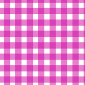Gingham Check in Magenta