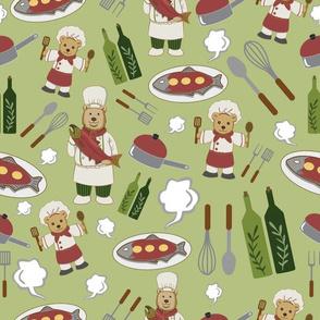Alaskan Culinary Artists Green