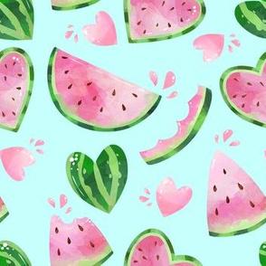 watermelon in mint