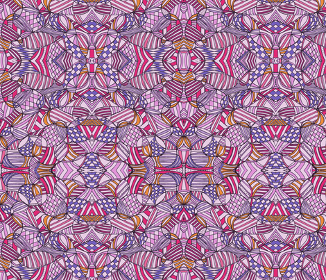 4th of July pink fabric by unclemamma on Spoonflower - custom fabric