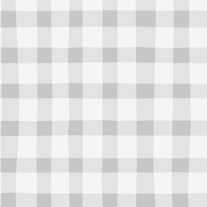 Checkered gray plaid vichy by unPATO