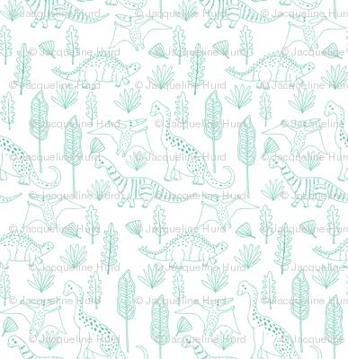 Little Dinosaur Outlines, Jumbo