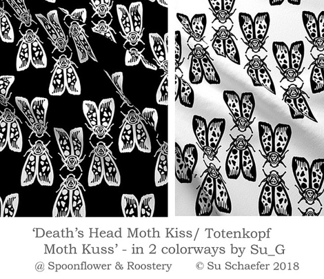 Death's Head Moth Kiss/ Totenkopf Moth Kuss - by Su_G_©SuSchaefer