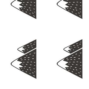 12 Mountain 8 inch Pillow Plush Plushie Softie Cut & Sew