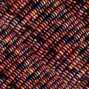 Indian Corn Pattern in Diagonal