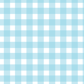 Gingham Check in Sky High