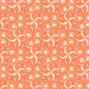 Orange and white Pinwheels