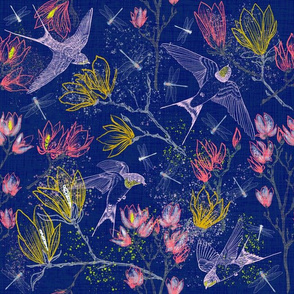 Midnight for Swallows & Magnolias