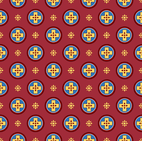 St Sava Vestments fabric by st_tabithas_workshop on Spoonflower - custom fabric
