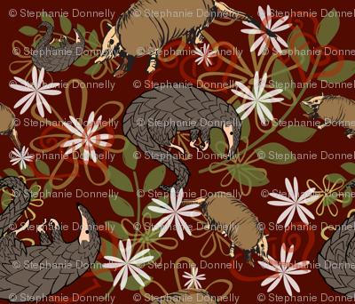 Pangolins and Armadillos