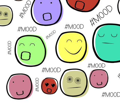 Mood fabric by teziprints on Spoonflower - custom fabric