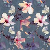 Rbutterflies-and-hibiscus-flowers-by-micklyn-le-feuvre_shop_thumb