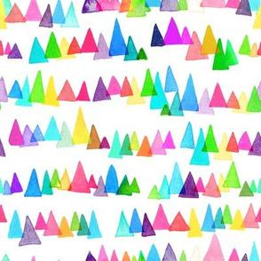 Rainbow Triangle Mountains