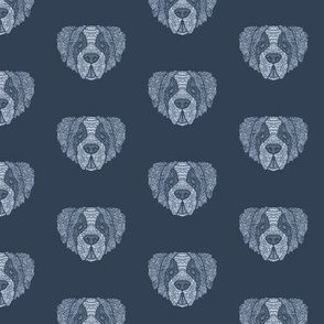 St-Bernard Dog Pattern