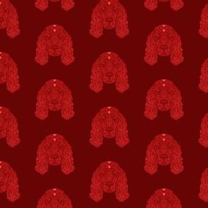Red Cocker Spaniel Pattern