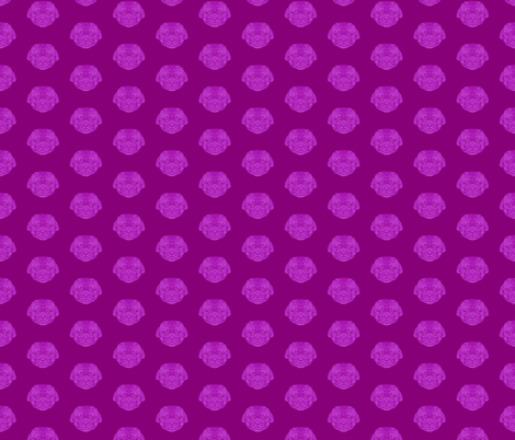 Purple Bijon Frise Pattern fabric by antonybriggs on Spoonflower - custom fabric