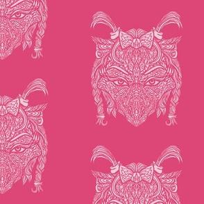 Pink Female Dragon Pattern
