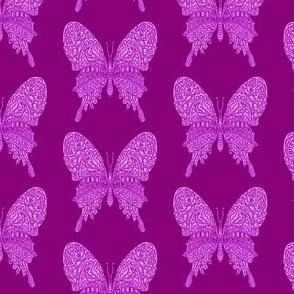 Purple Butterfly Pattern