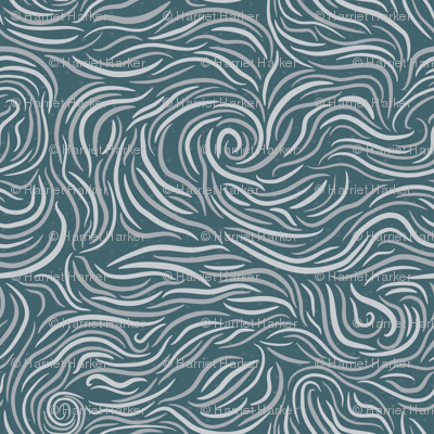 Just Waves Blue
