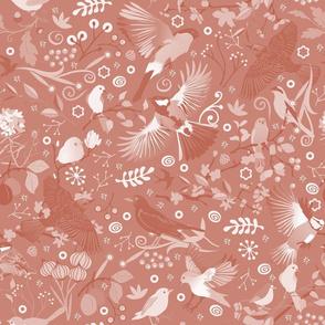 Tweet, tweet in the garden | rose