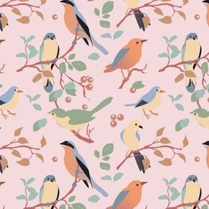 tweet in the garden | coordinating birds 3