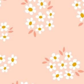 Daisy Field in Pink