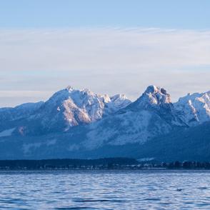 Austrian mountain lake