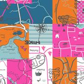 Camper Girl Scout Map