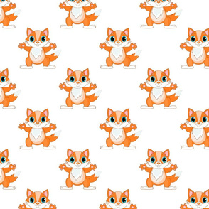 Fox nursery baby pattern