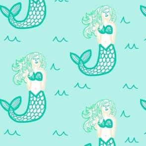 minty mermaids