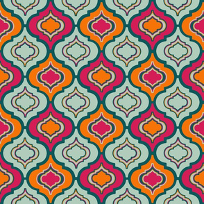 Moroccan colourful tile (medium)