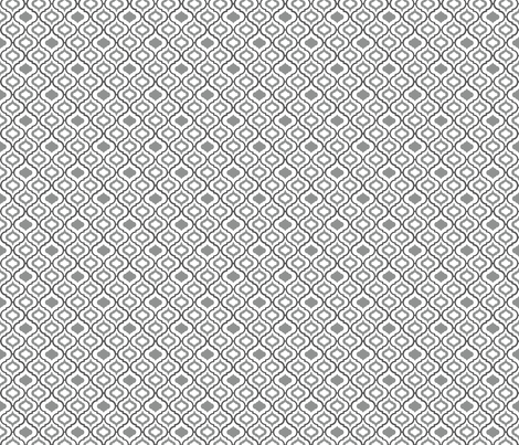 Moroccan Grey Tile (mini) fabric by new_branch_studio on Spoonflower - custom fabric