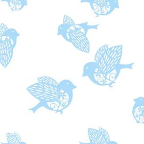 Sparrow pastel blue 02