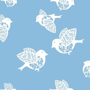 Sparrow blue