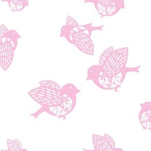 Sparrow pastel pink 02
