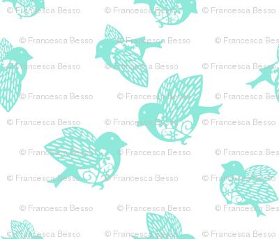 Sparrow pastel aqua 02