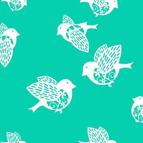 Sparrow aqua