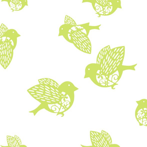 Sparrow pastel green 02