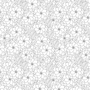 gardenia seamless repeat 2