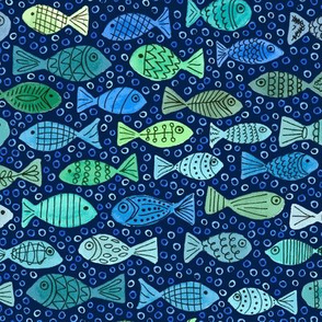One Fish, Two Fish, Green Fish, Blue Fish