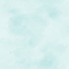 Mint Blue Green Aqua Blender || Suede Watercolor Textured Grunge Solid _ Miss Chiff Designs