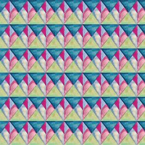 whimsy diamonds watercolor