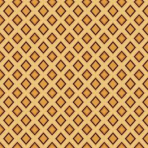 Ice Cream cone / waffle Plaid
