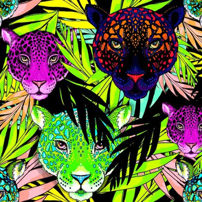 big cats of the neon jungle